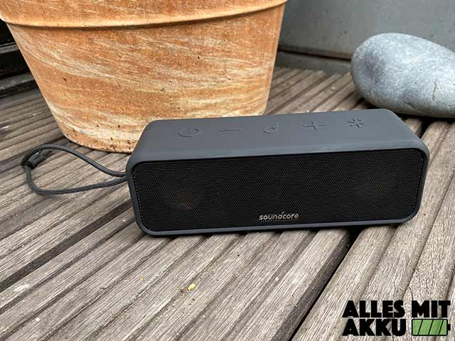 Anker SoundCore 3 Test - Outdoor