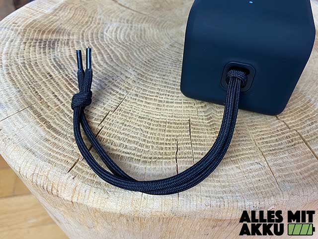 Anker SoundCore 3 Test - Trageband