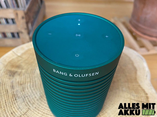 Bang & Olufsen Beosound Explore Test - Bedienung - 2