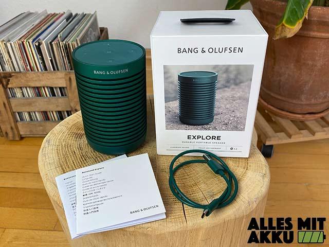 Bang & Olufsen Beosound Explore Test - Lieferumfang