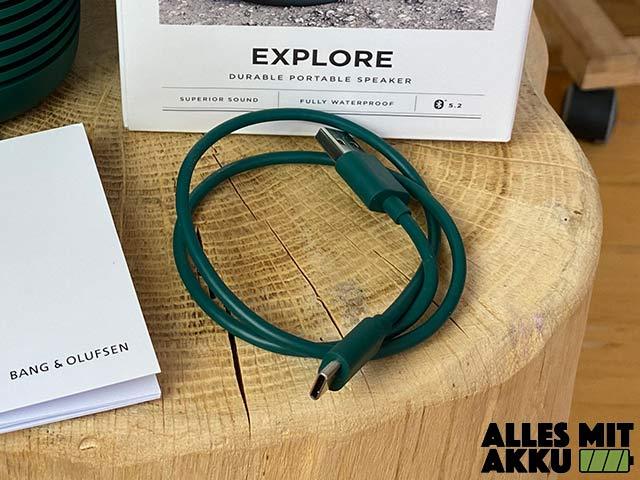 Bang & Olufsen Beosound Explore Test - Netzkabel