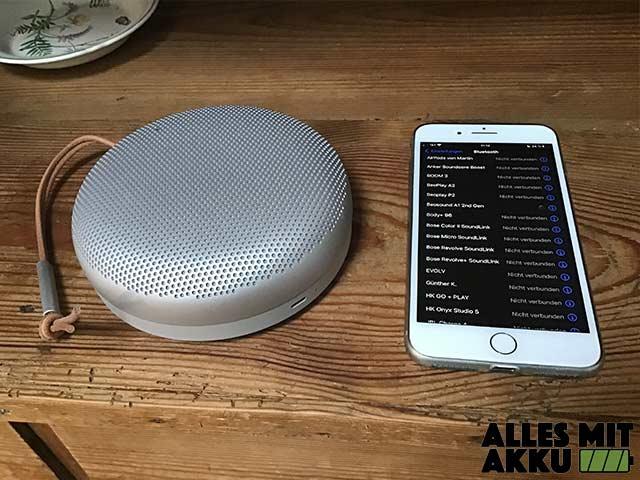 Bluetooth Lautsprecher von 100 bis 250 € - Bang & Olufsen - Smartphone