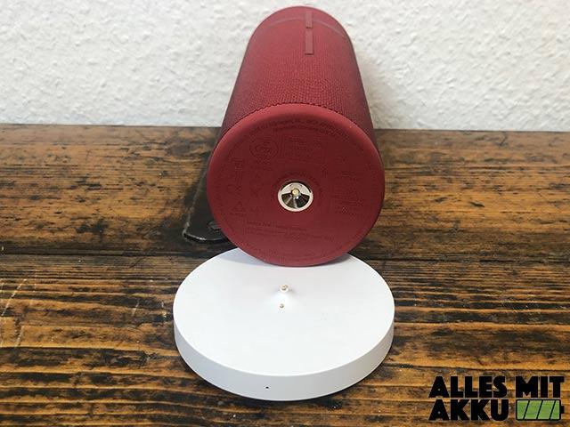 Bluetooth Lautsprecher von 50 bis 100 € - Ladestation