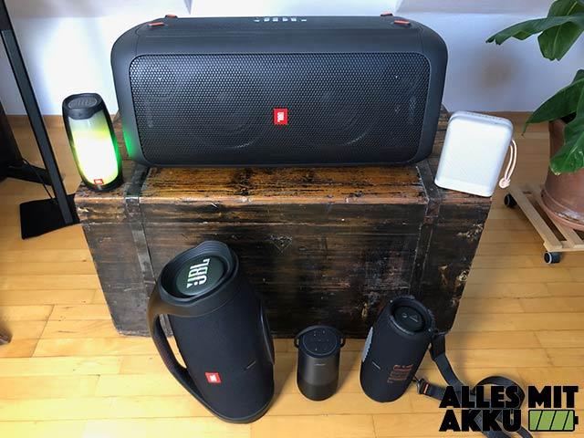 Bluetooth Lautsprecher über 250 € - 2