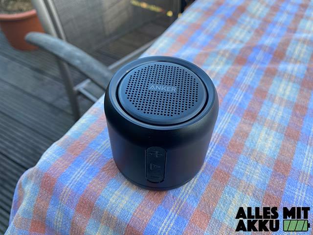 Bluetooth Lautsprecher unter 50 € - Anker SoundCore mini