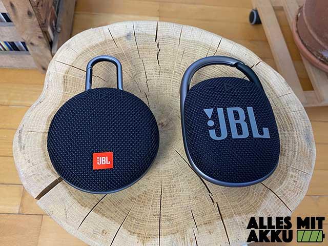 Bluetooth Lautsprecher unter 50 € - JBL Clip 4 & Clip 3