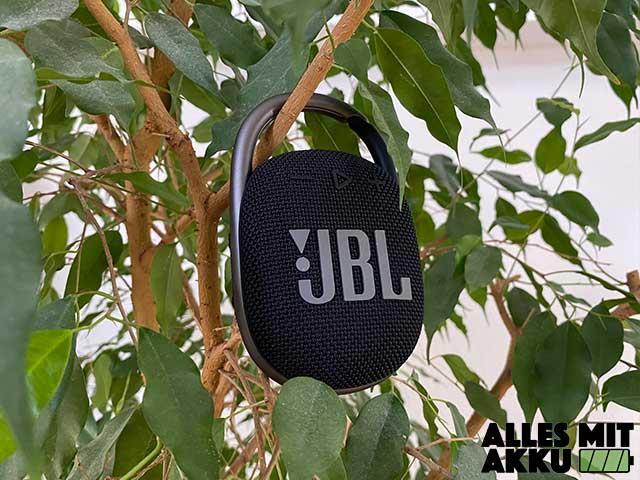 Bluetooth Lautsprecher unter 50 € - JBL Clip 4