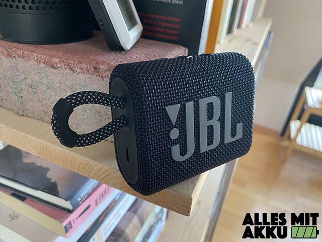 Bluetooth Lautsprecher unter 50 € - JBL Go 3