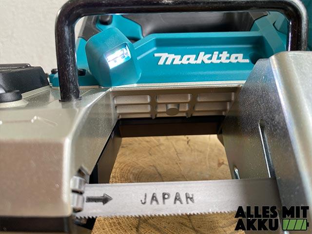 Makita DPB183Z Test - Arbeitslicht